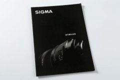 镜头目录说明书印刷设计排版-Sigma