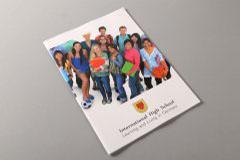 画册设计印刷排版-国际学校
