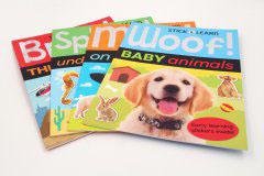 书刊印刷设计排版-baby animals