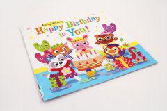 英文童话书刊印刷设计-HAPPY BIRTHDAY TO YOU
