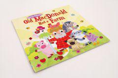 英文童话书刊印刷设计-old macdonald had a farm