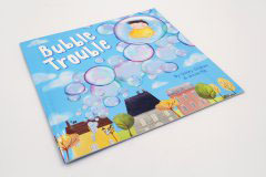 书刊印刷设计排版-BUBBLE TROUBLE