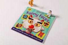 书刊印刷设计排版-Funny Faces