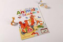 书刊印刷设计排版-animals stickers