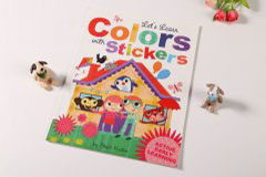 书刊印刷设计排版-colors stickers