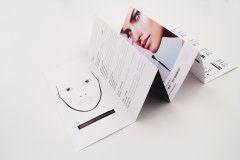 折页设计印刷排版-毛戈平专属美妆方案
