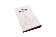 折页设计印刷排版-BALIHAI