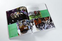 杂志印刷设计排版-中国自行车