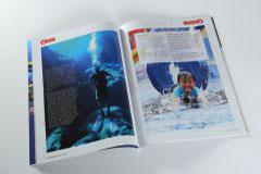 杂志印刷设计排版-海岛游踪