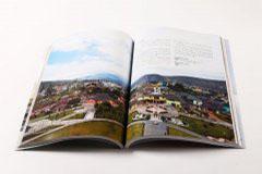 杂志印刷设计排版-城市旅游