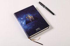 笔记本设计印刷定制-创意星空