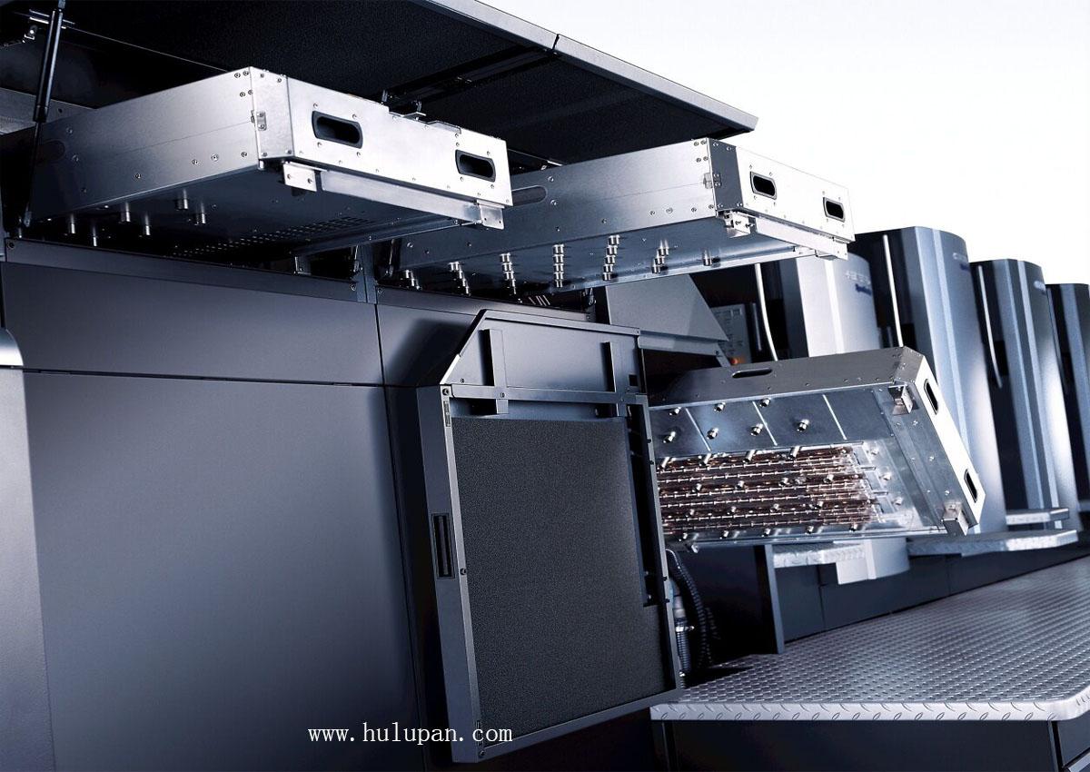 海德堡印刷机-对开四色印刷机械设备