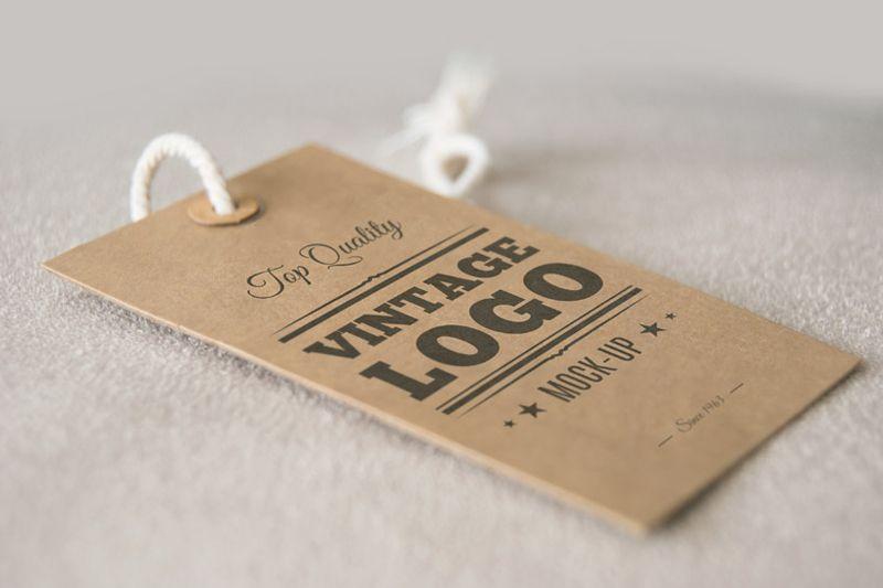 吊牌设计印刷定制-衣服装