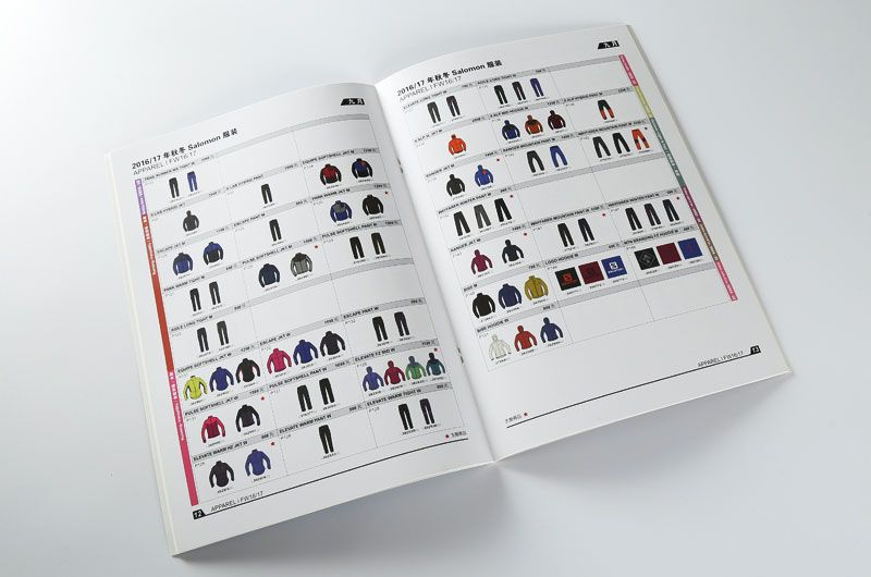 服装说明书印刷设计排版