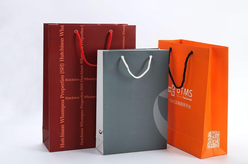 白卡纸手提袋印刷设计
