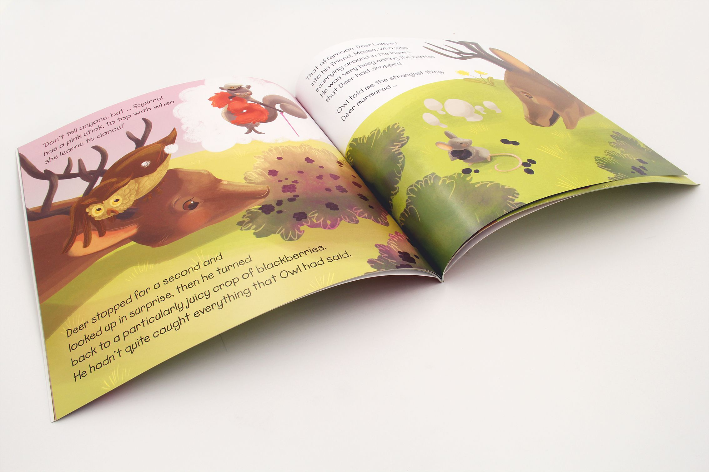 英文童话书刊印刷设计2